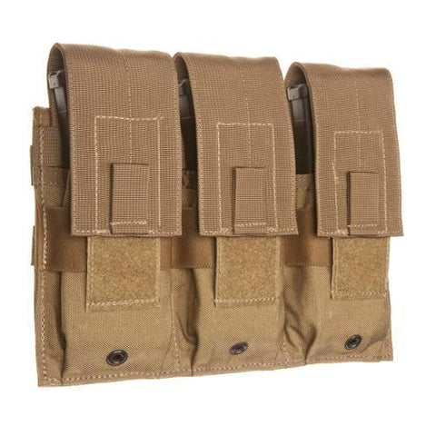 Tac Shield - Triple Universal Rifle Molle Pouch, Coyote