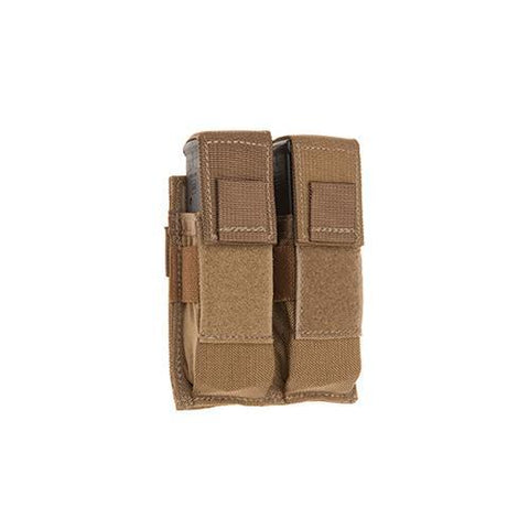 Tac Shield - Double Universal Pistol Molle Pouch, Coyote