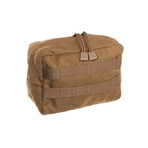 "Tac Shield - Zippered Utility, Horizontal, 10""x7""x2"", Coyote"