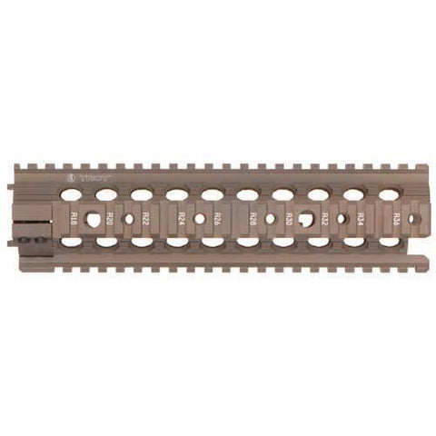 "Troy Industries - 9""  MRF-M Battle Rail - FDE"