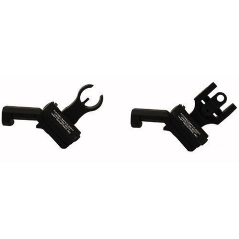 Troy Industries - 45 Degree Offset Sight Set - HK & Round Rear