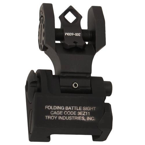 Troy Industries - Di-Optic Aperture (DOA) - Rear Folding Battle Sight - BLK