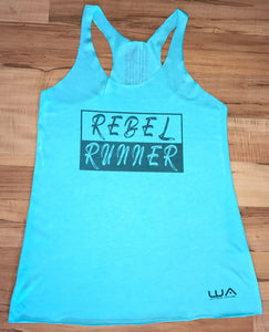 Women's Rebel Runner Tank - Tahiti