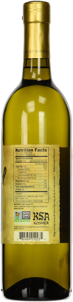 Bulk 12 Bottle Case of Napa Valley Naturals 100% Grape Seed Oil - 12 x 25.4oz