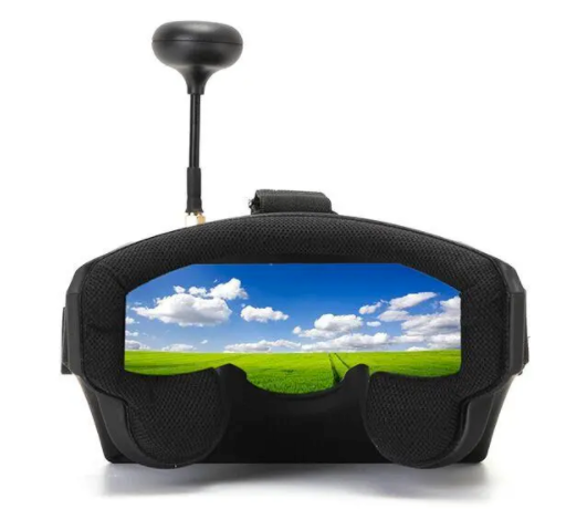 Eachine VR Goggles FPV Goggles Virtual Reality Goggles Drone Goggles EV800 5 Inches 800x480 5.8G 40CH Raceband Auto-Searching Built In Battery