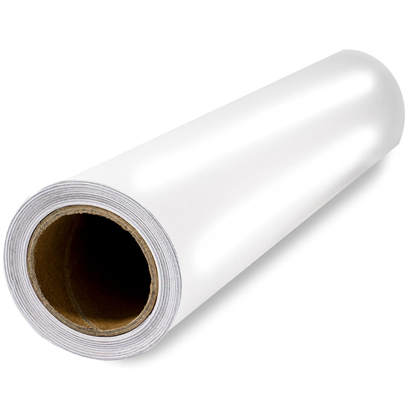 Scraft Artise Indoor Outdoor Permanent Adhesive Glossy White Vinyl Rolls