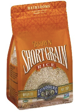 Bulk 6 pack 2LB Short Grain Brown Rice Bulk (6 x 2LB packs) ideal for instant pot rice and healthy rice by Lundberg Farms