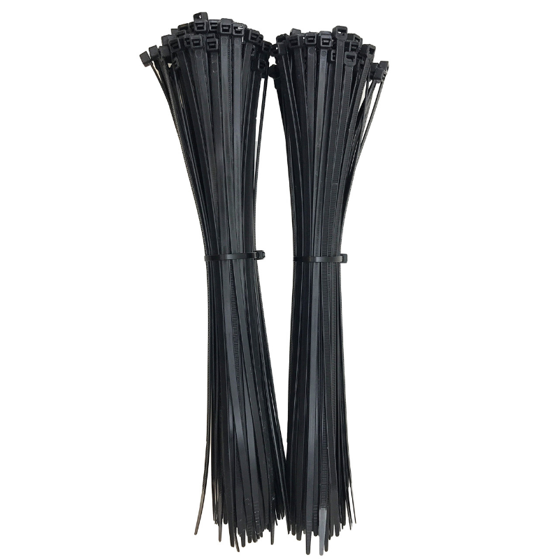 Southern 94 UV Rated Cable Ties in Black 12 Inch Length