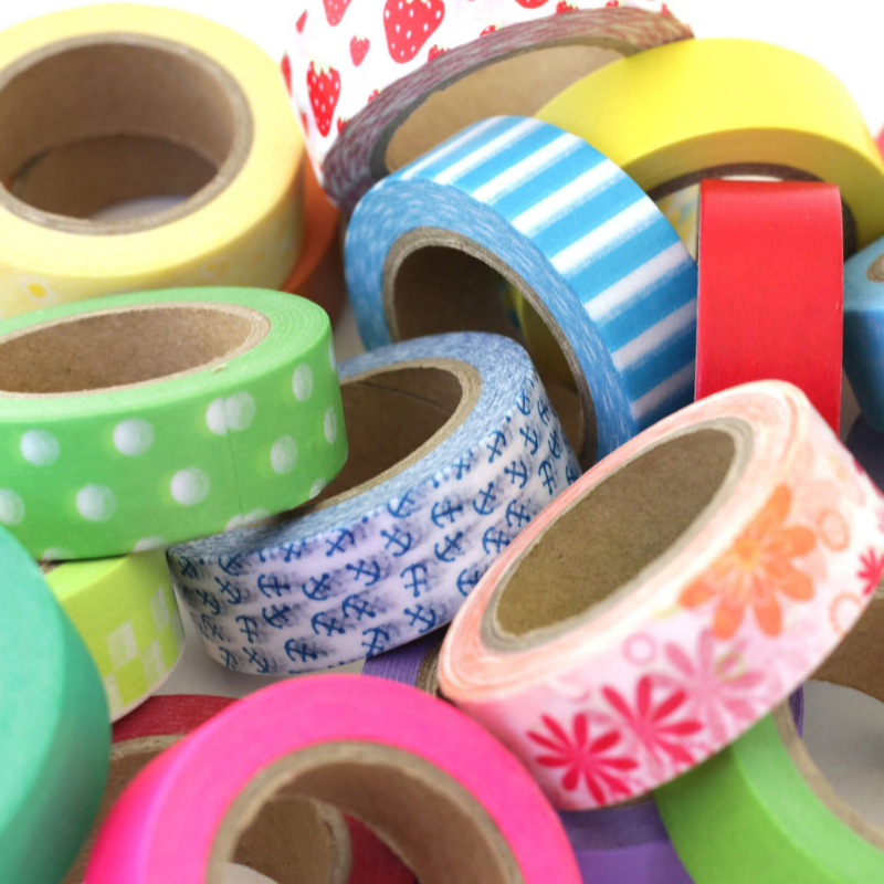22 Rolls Washi Tape Poolside Strawberry (5/8 in x 33 ft)