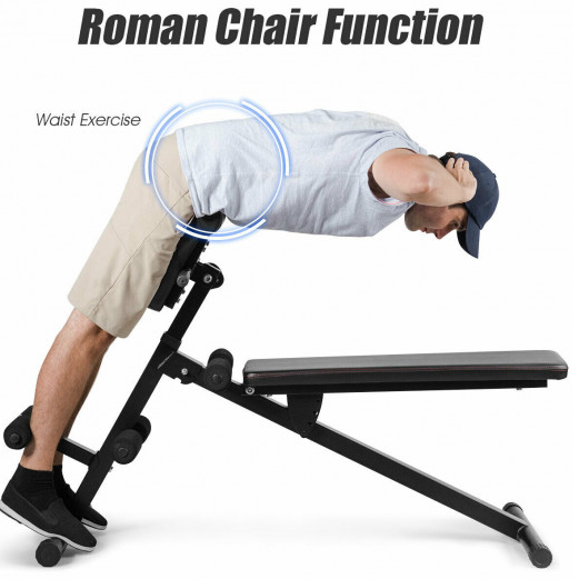 Sundase™ Weight Bench Workout Multi-Functional Full Body Exercise