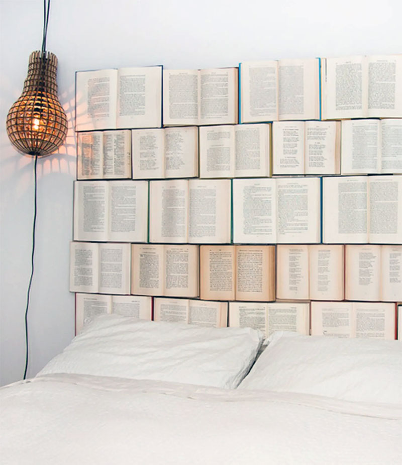 DIY Open Book Headboard