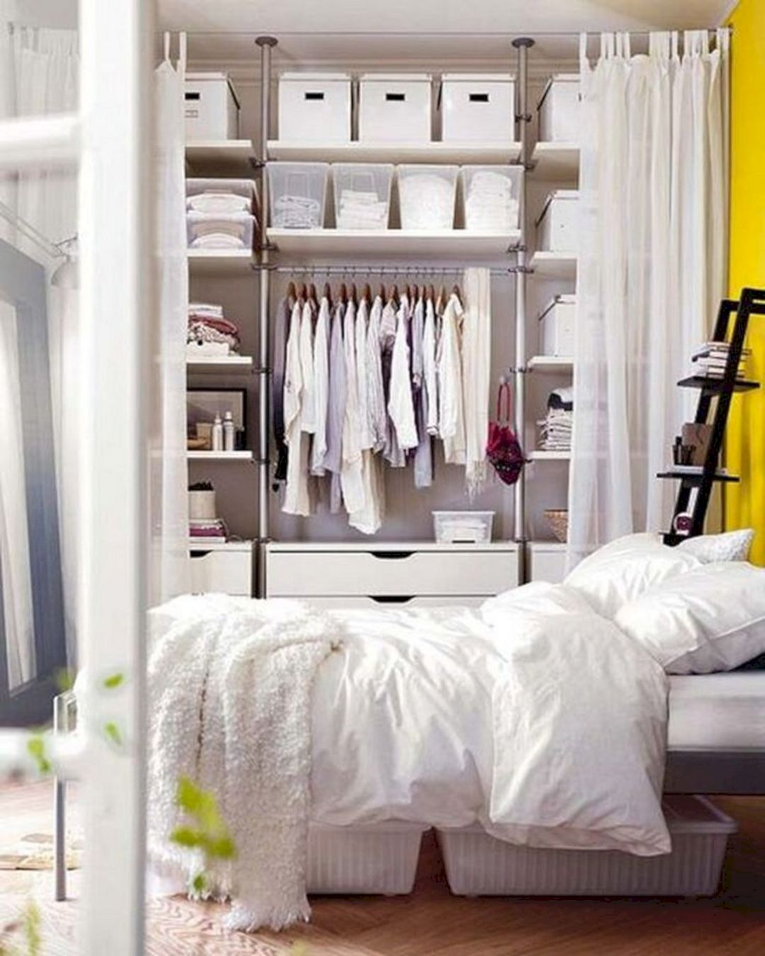 IKEA BEDROOM STORAGE HACK