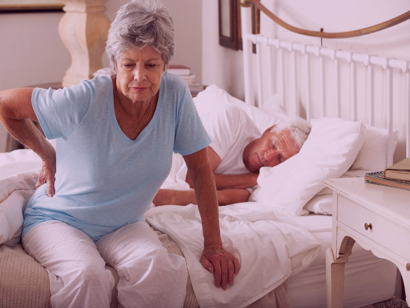 Senior and Elderly Illness and Pain Impact on Sleep