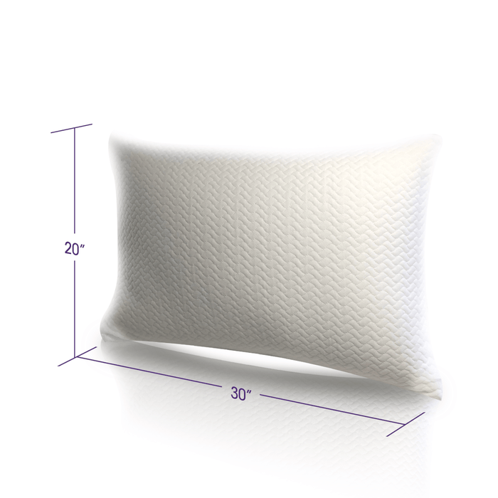 "The Dimensions of the Perfect Pillows | 16"" by 24"""