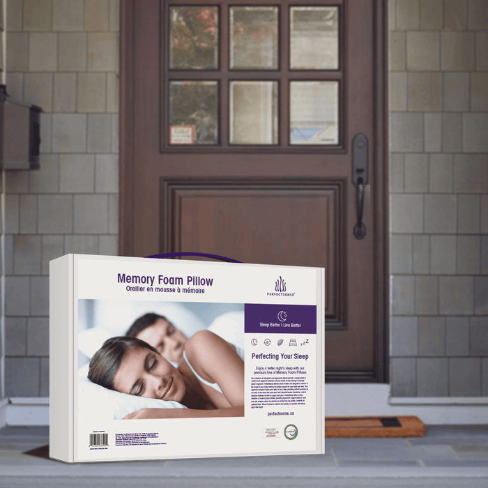 Memory Foam Pillows get Delivered Right to Your Door