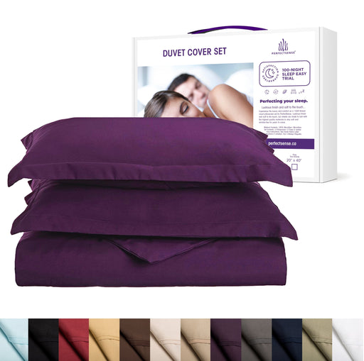 Duvet Cover Set with Shams 1500 Thread Count