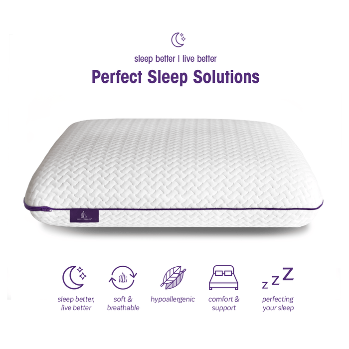 The Perfect Pillow for Perfect Sleepers | Sleep Better Live Better