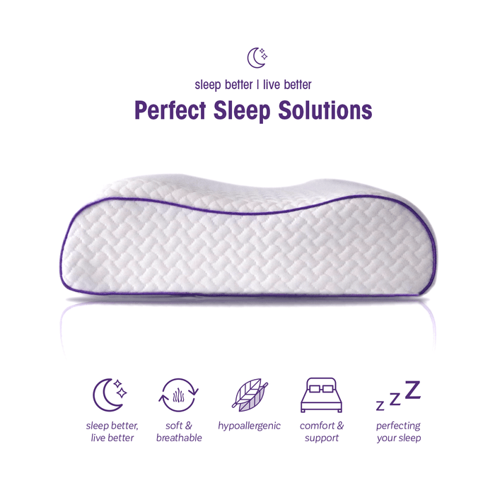 To Perfect Pillow to get the most sleeping done while be comfortable