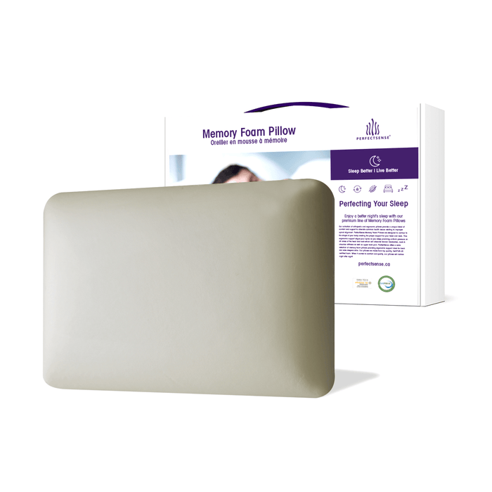 Memory Foam Pillow Premium Foam and Box