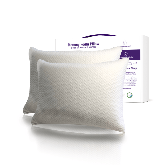 Memory Foam Pillow two pack and Box