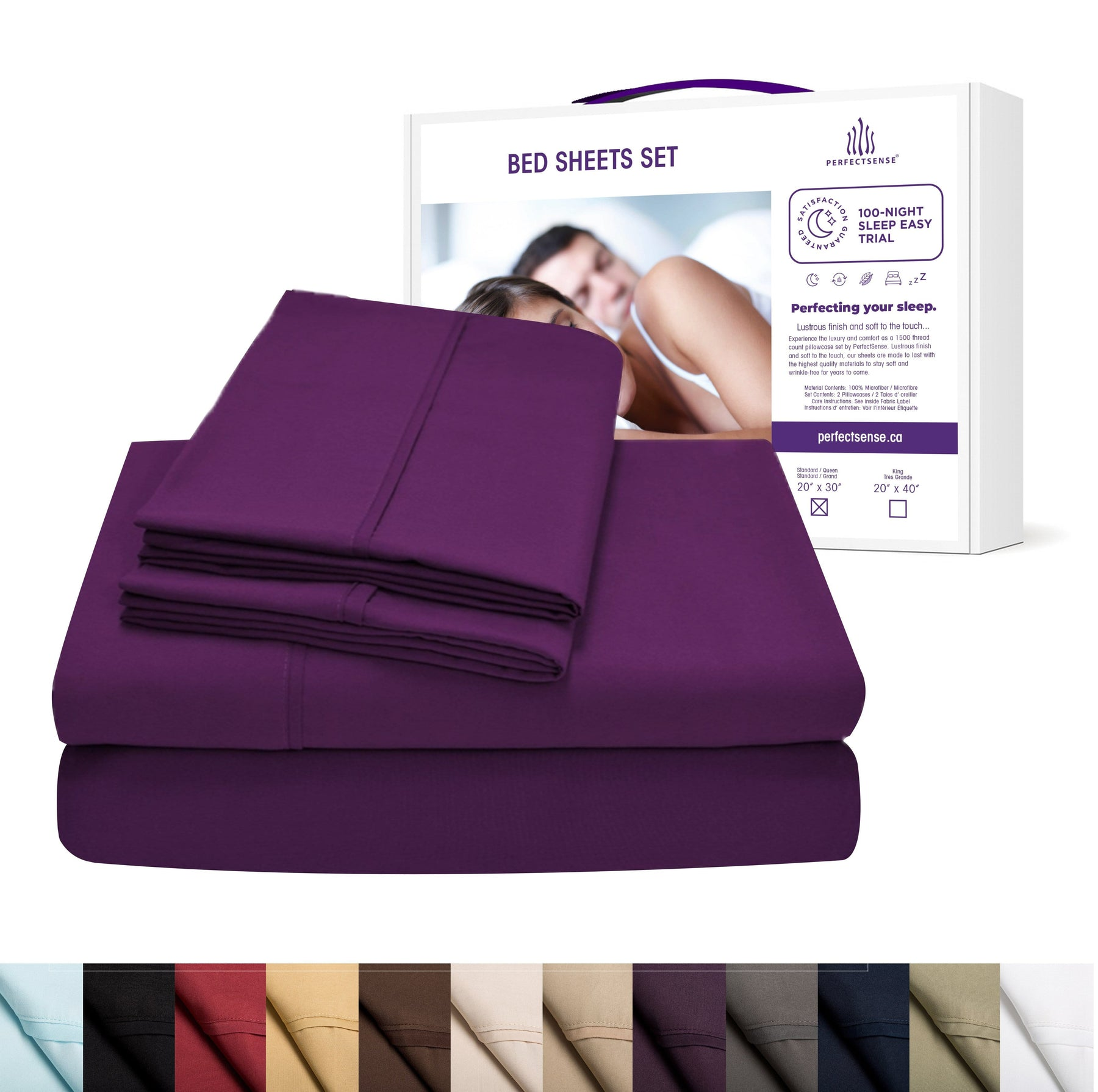 1500 Series Highest Thread Count Bed Sheets