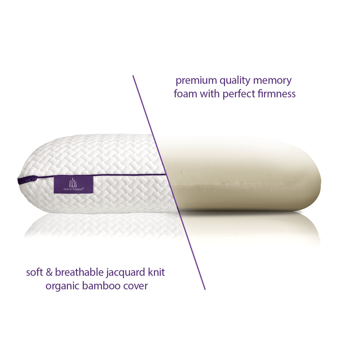 Memory Foam Pillow Premium Foam Display