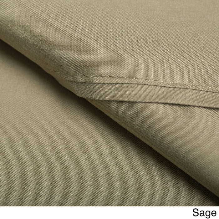 Duvet Cover Set with Shams 1500 Thread Count Sage