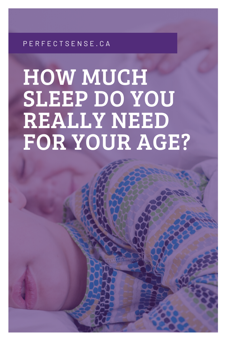 How much sleep do you really need at your age?