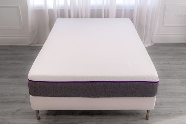 Close up of a queen-sized PerfectSense mattress