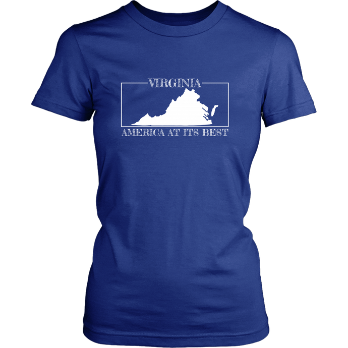 Virginia: America at its Best Women's Shirt