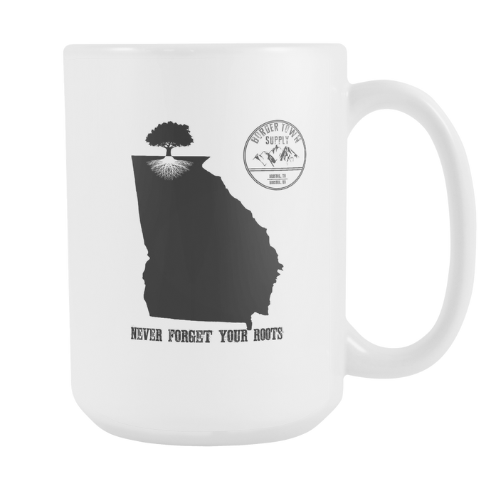 Never Forget Your Georgia Roots 15oz Mug