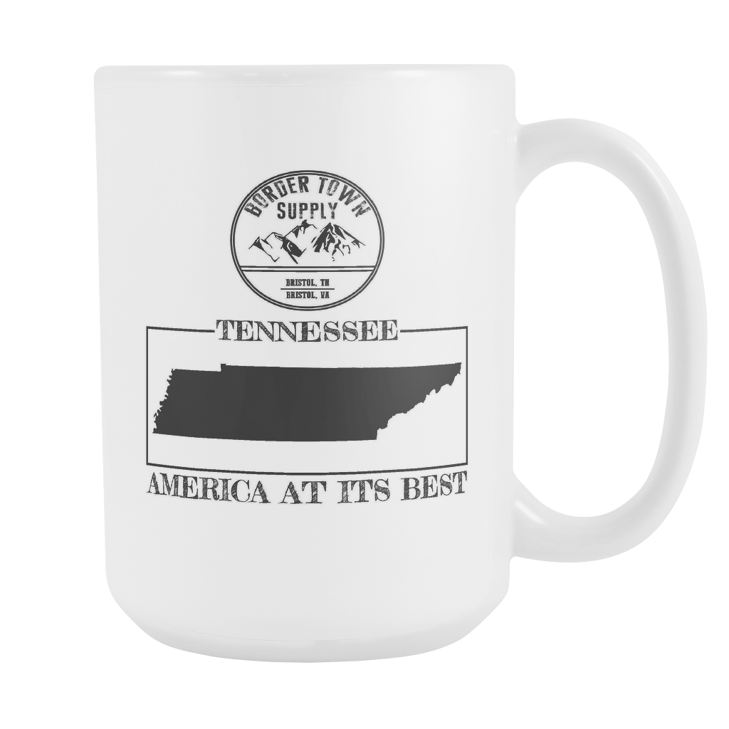Tennessee: America At Its Best Mug (15 oz)