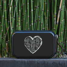 Small Town Girl Heart Bluetooth Speaker