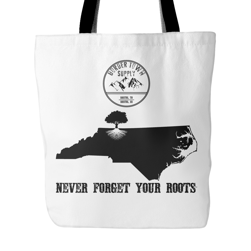 Never Forget Your North Carolina Roots Tote