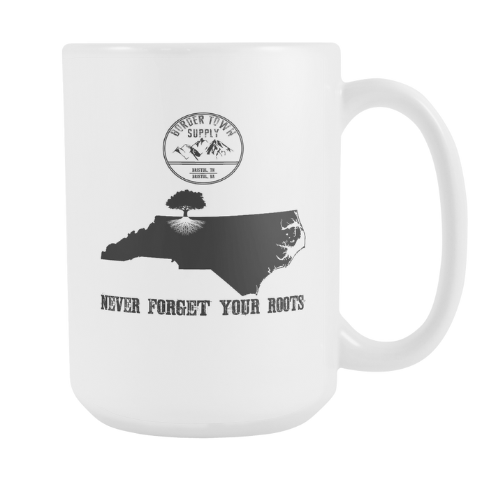 Never Forget Your North Carolina Roots 15oz Mug