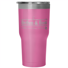 Rhythm and Root: I've been waiting for you tumbler (30 oz)