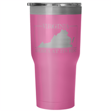 Virginia: America At Its Best Tumbler (30 oz)