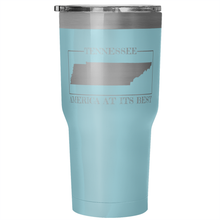 Tennessee: America At Its Best Tumbler (30 oz)