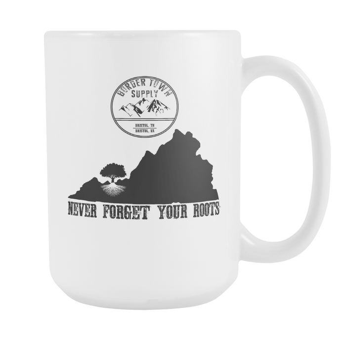 Never forget Your Virginia Roots 15oz Mug