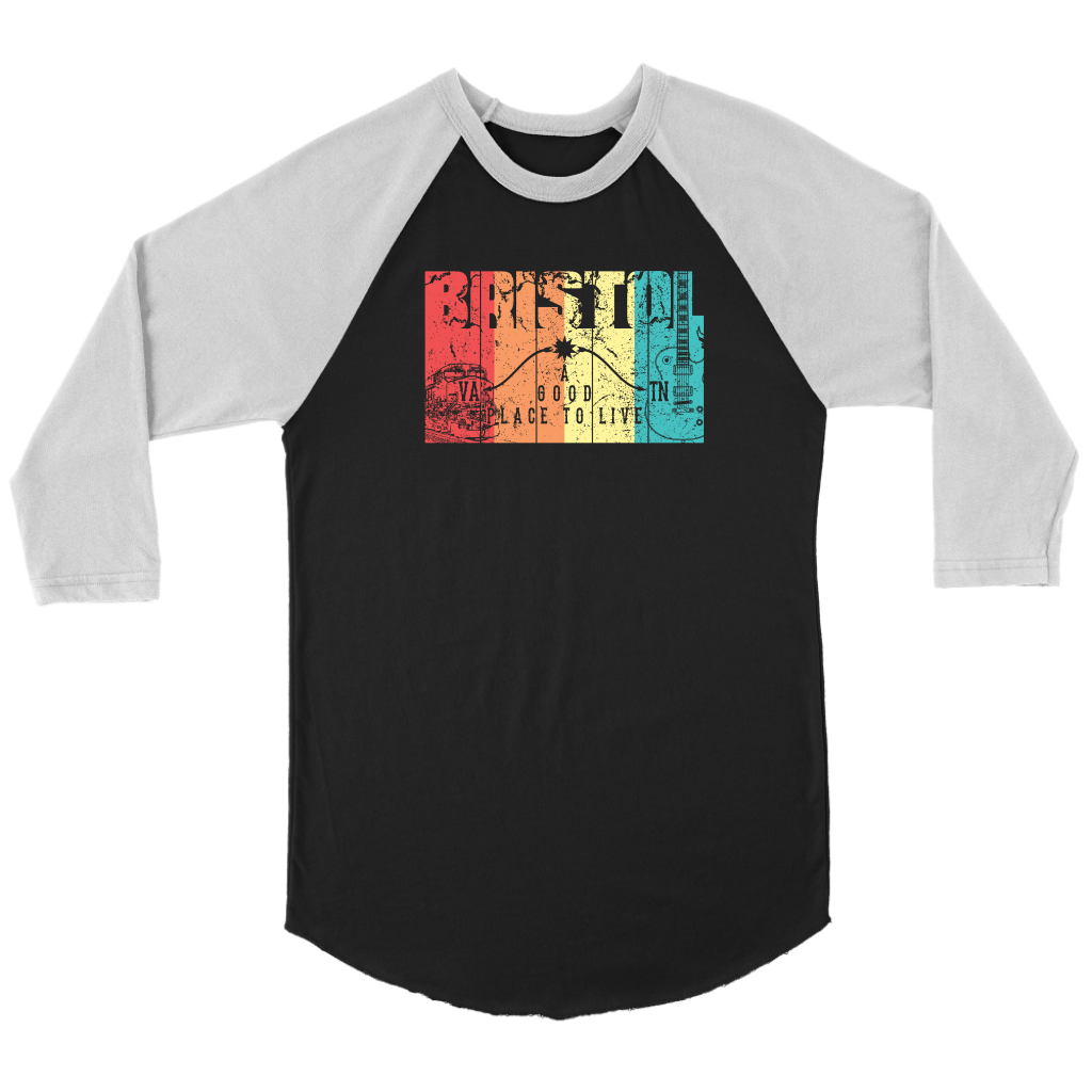 Colorful Bristol Raglan