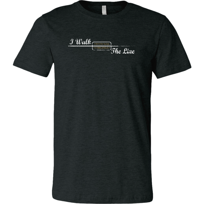 I Walk the Line Heather Tee