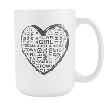 Small Town Girl Heart Mug