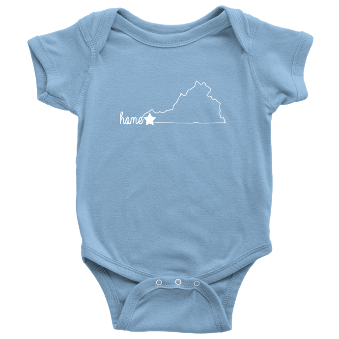 Virginia Home Onesie
