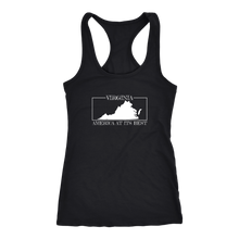 Virginia: America At Its Best Women's Tank