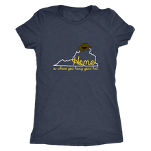 Virginia: Home is Where You hang Your Hat Tee