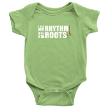 I Get My Rhythm From my Roots Onesie