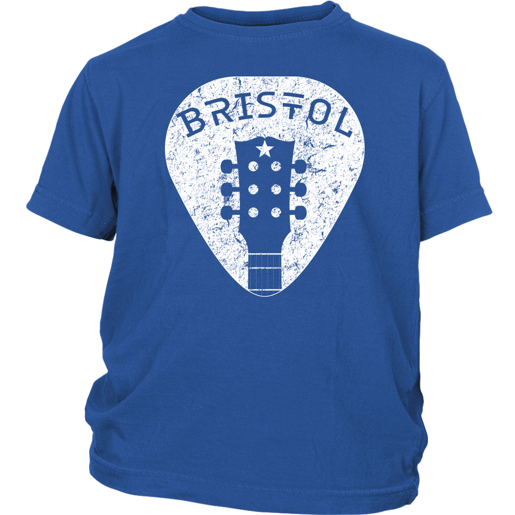 Bristol Guitar Pick Youth Tee