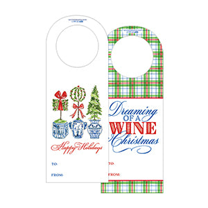 Wine Tags | Christmas