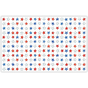 Red, White, and Blue Stars Placemats