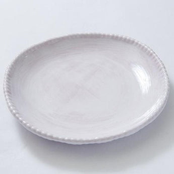 Relish Beaded Dinnerware | White